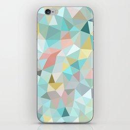Pastel Tris iPhone Skin