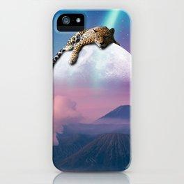 Jaguar watching over us  iPhone Case