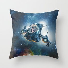 The Scout Ship Throw Pillow