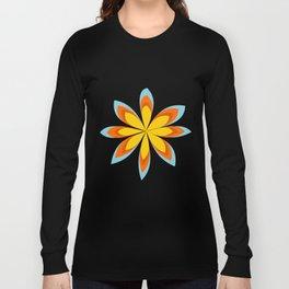 Vintage flower Long Sleeve T-shirt