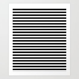Black and White Stripes Kunstdrucke