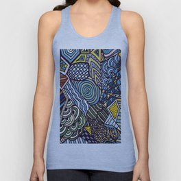 Midnight Wanderlust Zoom 1 Unisex Tank Top