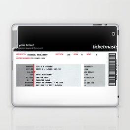 Concert Ticket Stub - McCartney Laptop & iPad Skin