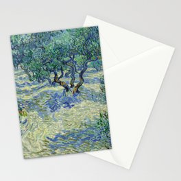 Olive Orchard by Vincent van Gogh Stationery Cards