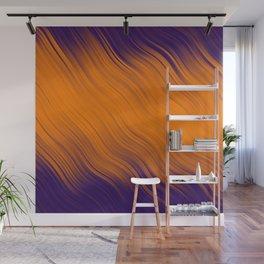 Stripes Wave Pattern 10 po Wall Mural
