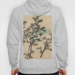 Bamboo Branches Traditional Japanese Flora Hoody