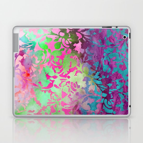 Earth_Watercolor by Jacqueline & Garima Laptop & iPad Skin