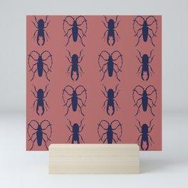 Beetle Grid V4 Mini Art Print