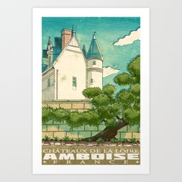 Amboise of France Art Print