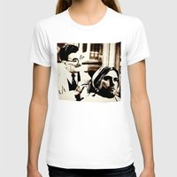 kurt rahn T-shirts featuring Kurt & Floyd  |  Grunge Collage by Silvio Ledbetter