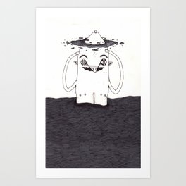 Going Crazy Art Print