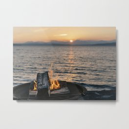 Seaside Serenity Metal Print