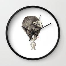 Bear your weight Wall Clock