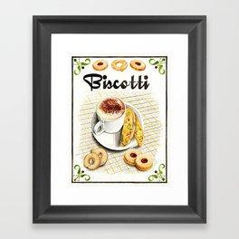 BISCOTTI Framed Art Print