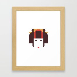 Japan Noble Woman Framed Art Print
