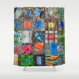 NVSV SPCS_grid Shower Curtain