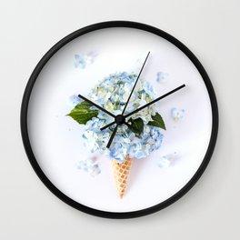 Double Scoop Wall Clock