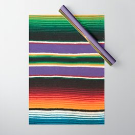 MEXICAN SERAPE Wrapping Paper