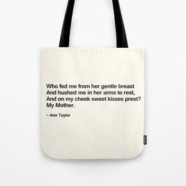 Mothers Day I Tote Bag