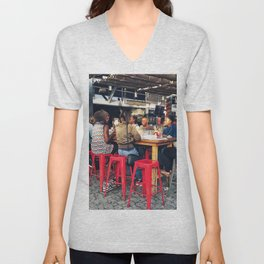 Lunch together Unisex V-Neck