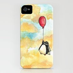 Penguin and a Red Balloon iPhone (4, 4s) Slim Case