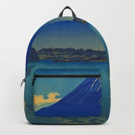 Tsuchiya Koitsu Lake Shoji Vintage Japanese Woodblock Print Backpack