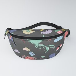 Myths // traditions pattern Fanny Pack