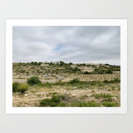 Carlsbad Caverns - New Mexico Art Print