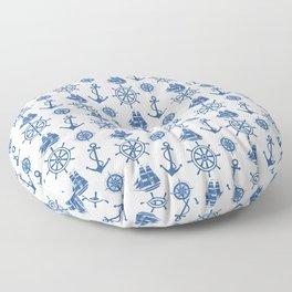 Ships Anchor Beach House Floor Pillow