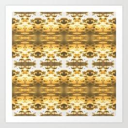 GoldBlossom Art Print