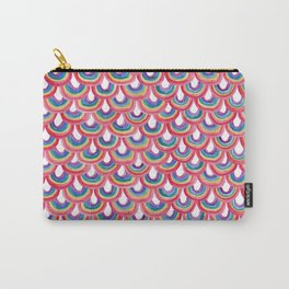 Rainbow Scallop Carry-All Pouch