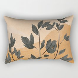 Plant Under a Dune Rectangular Pillow
