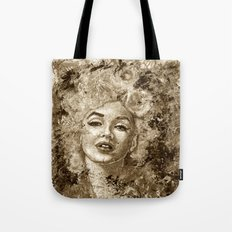 blonde bombshell - sepia version Tote Bag