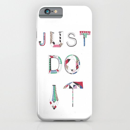 JUST DO IT iPhone & iPod Case