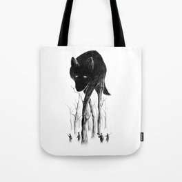 GOOD WOLF HUNTING Tote Bag