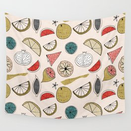 Pop Fruit Pearl Wall Tapestry