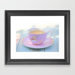 Coffee Magic Framed Art Print