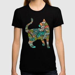 Vegetarian cat T-shirt