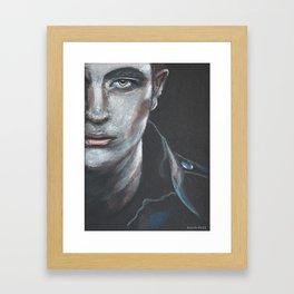 Robert Pattinson as Edward Cullen Framed Art Print