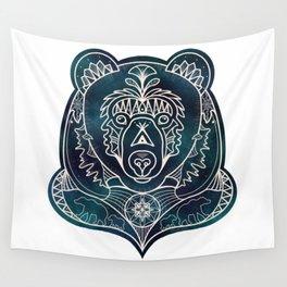 Mandala Bear Wall Tapestry