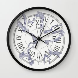Existence with Time (Time Travelers) Wall Clock