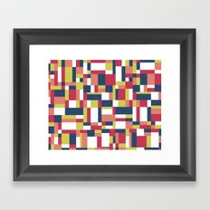 Map Matisse #1 Framed Art Print