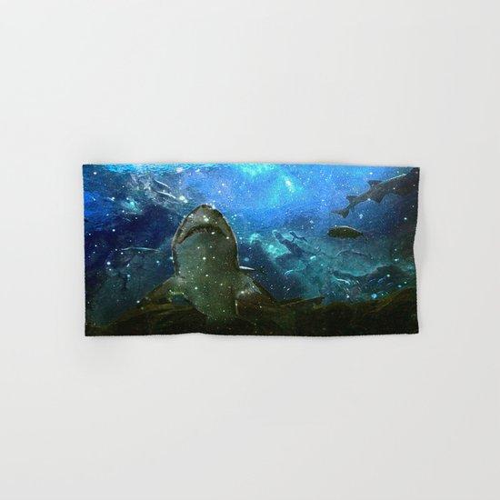 The Great White Marine Lava Lamp Hand & Bath Towel