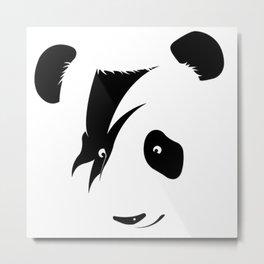 save rock panda Metal Print