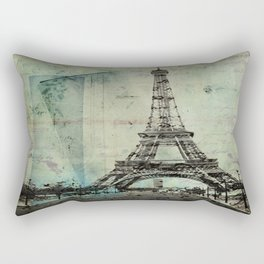 With Love From Paris Rectangular Pillow