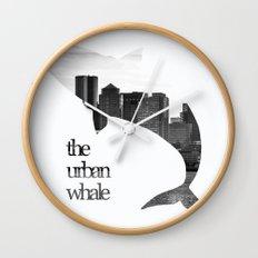 The Urban Whale Wall Clock