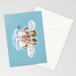 Dr Free and Jones Stationery Cards