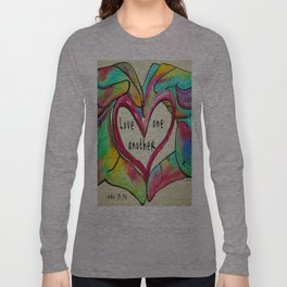Love One Another John 13:34 Long Sleeve T-shirt