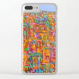 Urban emergence Clear iPhone Case