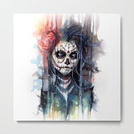 sugar skull - calavera de azucar Metal Print